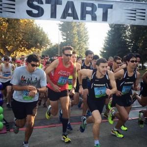 Clarksburg Country Run Half Marathon Start